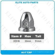 Cubierta de tuerca de acero para automóvil (3351B)