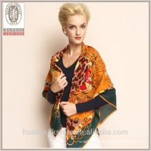 Echarpes en laine de fournisseur de haute qualité Vente en gros manteau Pashmina au pur kashmir