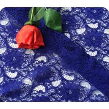 70% algodão 30% nylon tecido de renda para o vestido de casamento, Dggreatcoat.