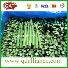 IQF Espárragos verdes enteros congelados