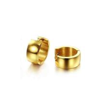 Pendientes del anillo de la manera, pernos prisioneros del pendiente, pernos prisioneros del oro para las mujeres