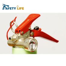 Rotes Feuerlöscher-Ventil des Schaum- und Trockenpulvers mit CER-Standard