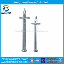Aço de alta resistência / aço de liga QD pregos de disparo