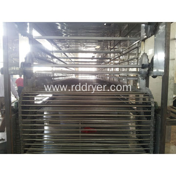 drying equipment charcoal briquettes mesh belt dryer