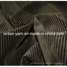 100% Polyester geprägte Beflockung gestrickte Stoffrolle für Sofa