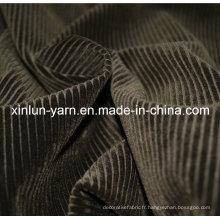 Rouleau de tissu en tricot enroulé en polyester à 100% pour un canapé