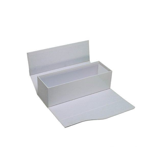 Luxury White Foldable Wine Pacakging Paper Box