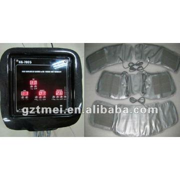 2 em 1 pressotherapy infravermelho compressão de ar sistema de massagem