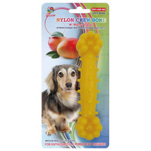 "Percell 6 ""Nylon Dog Chew Bone Mango Doft"