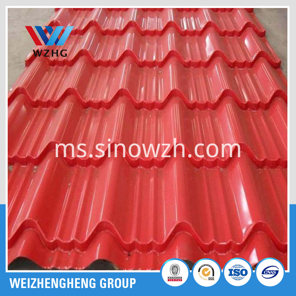 Prepainted roof sheet YX750 950 (4)