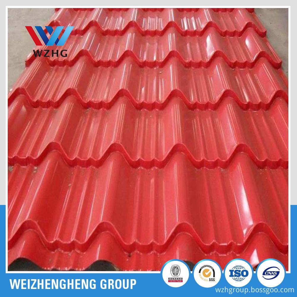 Prepainted roof sheet YX750 950 (4)
