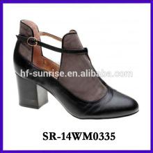 2014 hot selling fashion high heel shoe woman boot
