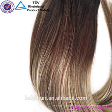 Mais fashional estilo 8A grau grande estoque preço competitivo 200g grampo brasileiro no cabelo