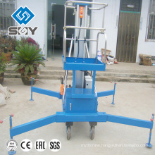 Single Mast Aerial 300kg Working Platform
