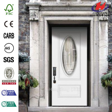 3/4 Oval Lite Prehung Security Door