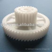 Engrenages plastiques duplex spéciaux