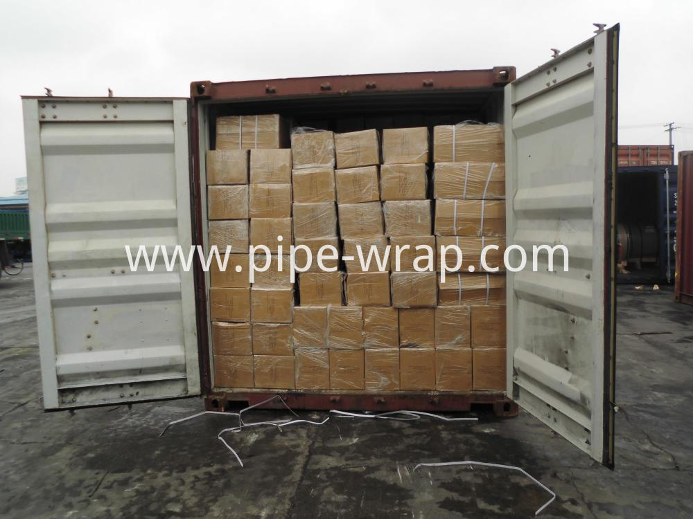pipeline tape container