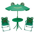 Hot selling kids folding table and chair sets for campling