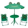 Venda quente crianças mesa dobrável e conjuntos de cadeira para campling