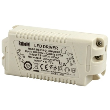 Conducteur de LED d'alimentation de Downlights enfoncé