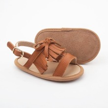Tassel Soft Leather Moccasins Baby Sandaler