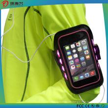 Flashing LED Sports Armband for Mobilephones