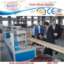 most professional floor wpc wood plastic profile machine