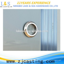 Stable quality round tube toughened glass door pull handle