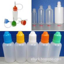 Electronic cigarette bottle:Needle Empty Bottle for e liquid
