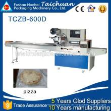 TCZB600 Full Stainless Bäckerei Ausrüstung automatische Pizza Verpackung Maschine