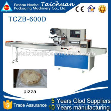 TCZB600 Full Stainless bakery equipment automatic pizza flow pack machine
