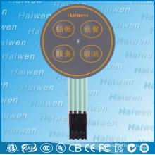 4 ключа металлический купол водонепроницаемый мембранный переключатель