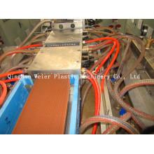 Профиль PE/PP деревянная пластичная делая машину