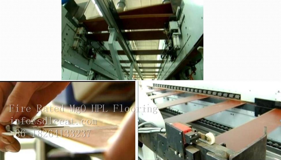 mgo decorative HPL flooring