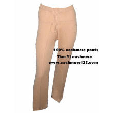 Pantalones acolchados y calientes de cachemira