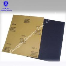 Wasserdichtes Sandpapier 230 * 280mm, Qualität, Massenverpackung, Silikonkarbid, P60-100