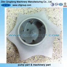 Rotor de bomba de titânio para ANSI Chemical Goulds e Durco Pump Parts