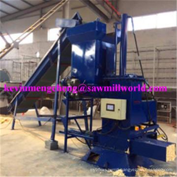 Vertical Metering Baler Hydraulic Baling Machine for Wood Sawdust