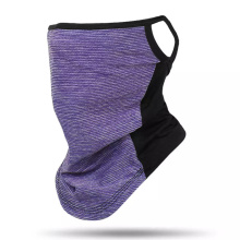 Breathable Bandanna Riding Neck Gaiter Ice Cool Scarf with Earloop
