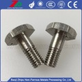 High quality molybdenum flat phillips bolt for industry