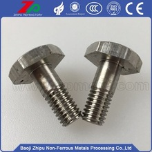 M2 standard size hexagonal bolt