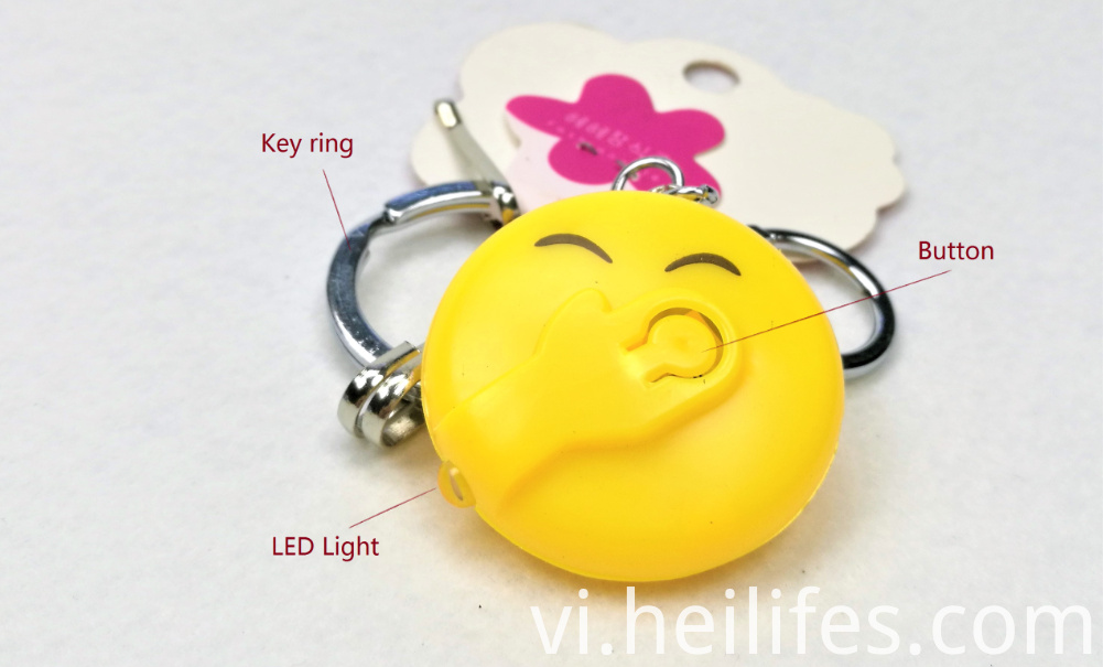 Expression LED key ring