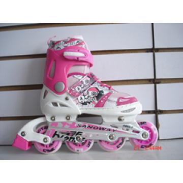 Skate en ligne avec roue PU (YV-0815)