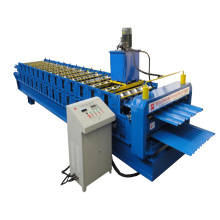 Ibr Corrugated Roof Sheet Double Deck Forming Machine