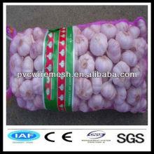 HDPE plastic onion/fruit mesh bag