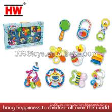 2013 traqueteos calientes del bebé de las ventas 10PCS