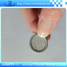 Edelstahl Filterscheibe mit verschiedenen Spezifikationen
