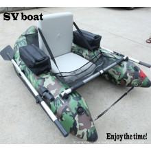 Barco inflável individual de barriga pequena e conveniente barco de pesca pequeno