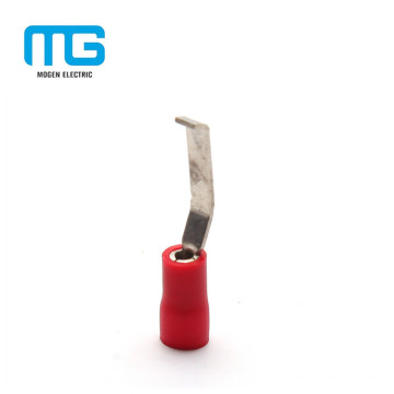 Mogen 0.5-1.5mm Red Tin Plated Copper Lipped Flat Blade Terminals