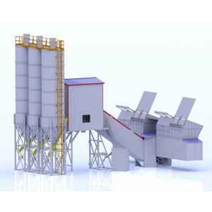 Small Ready Mix Concrete Batch Plant